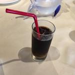 リストランテ・スコーラ - アイスコーヒ〜(^。、^)ノ