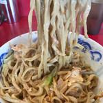 74173033 - もっちり太麺を食らいます