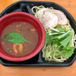 らーめん福たけ - オマール海老とカラスミとアンコウのどぶ汁濃厚つけ麺