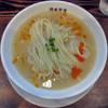 らーめん 鉢ノ葦葉 - 料理写真:ひやあつ。おろし山芋とおろしラ・フランスの 酸辣湯麺