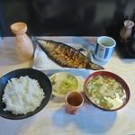74176411 - 焼き魚定食