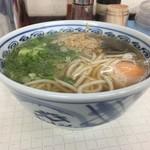 一心 - 玉子うどん500円