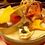 九段下 寿白 - 前菜