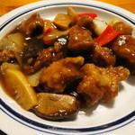 鎌倉山下飯店 - やまゆりポーク黒酢風味の酢豚