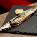 イタリア肉酒場QUINCI - 北海道産 秋刀魚(焼き)