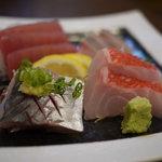 浜善 - 地魚の刺し盛り