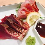 静岡おいしんぼ処 しずおかばっかぁ - 赤サバ はじめて食べたけど美味しい