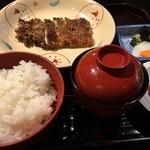 田舎庵 - 蒲焼きの定食