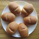 シロヤベーカリー - サニーパン1個 90円