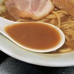 大勝軒 まるいち - スープ
