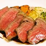 イタリア食堂 MARIA - 国産牛ロース肉のタリアータ