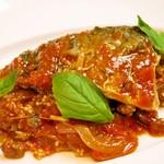 イタリア食堂 MARIA - サバのトマト煮とクスクス