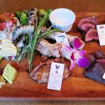 町屋個室×肉バル ジビエズマーケット - グリル肉盛り合わせ