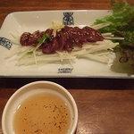 韓の食楽 - レバ刺し