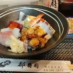 都寿司 - 海鮮丼(ランチ)