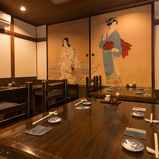 歴史と風情を感じる和空間で、極上の割烹料理を。