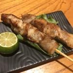 居酒屋 海 - アグーのトントロ塩焼き