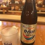 居酒屋 海 - オリオン瓶ビール