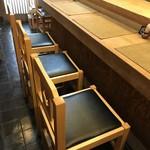 檜垣 - お店は、立派なカウンターのお店です、お持ち帰りでは寂しいですよ(2017.10.4)