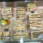 ベル - メニュー(サンドイッチ類)