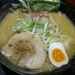 さっぽろ麺屋 文太郎 - 味噌ラーメン+もやし