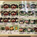 がんこ寿司 - メニュー