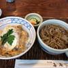 そば処喜庵 - 料理写真:かつ丼セット 温そば 1,080円