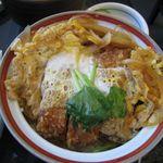 上馬大菊 - ミニカツ丼