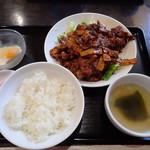 中華食堂 秋 - 豚肉味噌炒め定食