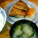 季節料理 三味 - 『さば塩定食』¥750-