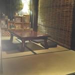 ビルバンテ - 2階 畳の間の座卓
