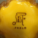 焼きたてチーズタルト専門店PABLO - パブロ☆★★☆チーズタルト(前のミディアム)
