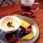 コモドキッチン - ランチ&ディナーのスイーツセット