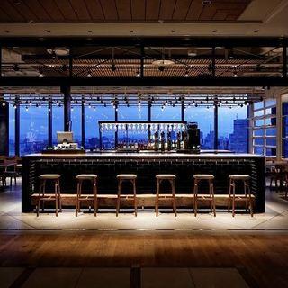 名古屋の夜景を一望出来るお洒落空間