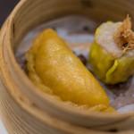 新広東菜 嘉禅 - 蔬菜蒸餃(あをものむしぎやうざ)
