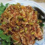 普天河 - 蒸し鶏の山椒唐辛子和えの更に激辛