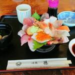 活漁レストラン藤 - いっぱい海鮮丼セット
