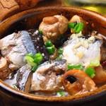 4階のイタリアン 磨屋町 - 秋刀魚とキノコのアヒージョ