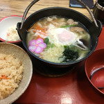 74213877 - 鍋焼き定食