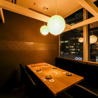 【宴会&お食事会に1番人気】大人の隠れ家的個室。夜景も♪