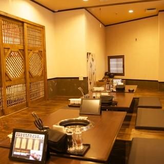 宴会に掘り炬燵式個室!幹事の株UP『大人のプライベート空間』