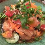 ちばりよ食堂 - 料理写真:【'17.9】南蛮漬け。なんか沖縄の魚だった