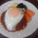 レストラン・デキムラ - ハンバーグ