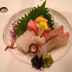 さくら亭 - 刺身・本鮪、鯛、タコ、イカ