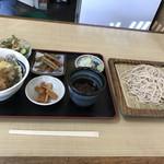かめや - 料理写真:野菜天重セット