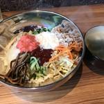栄香苑 - 明太子チーズビビンバ