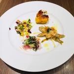 ダルマット - 前菜4種の盛合わせ