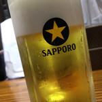 初代 けいすけ - 生ビール(中)