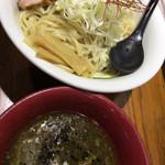 初代 けいすけ - 黒味噌魚介つけ麺