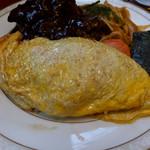 おきな堂 - 大人の洋食セット(オムライス)